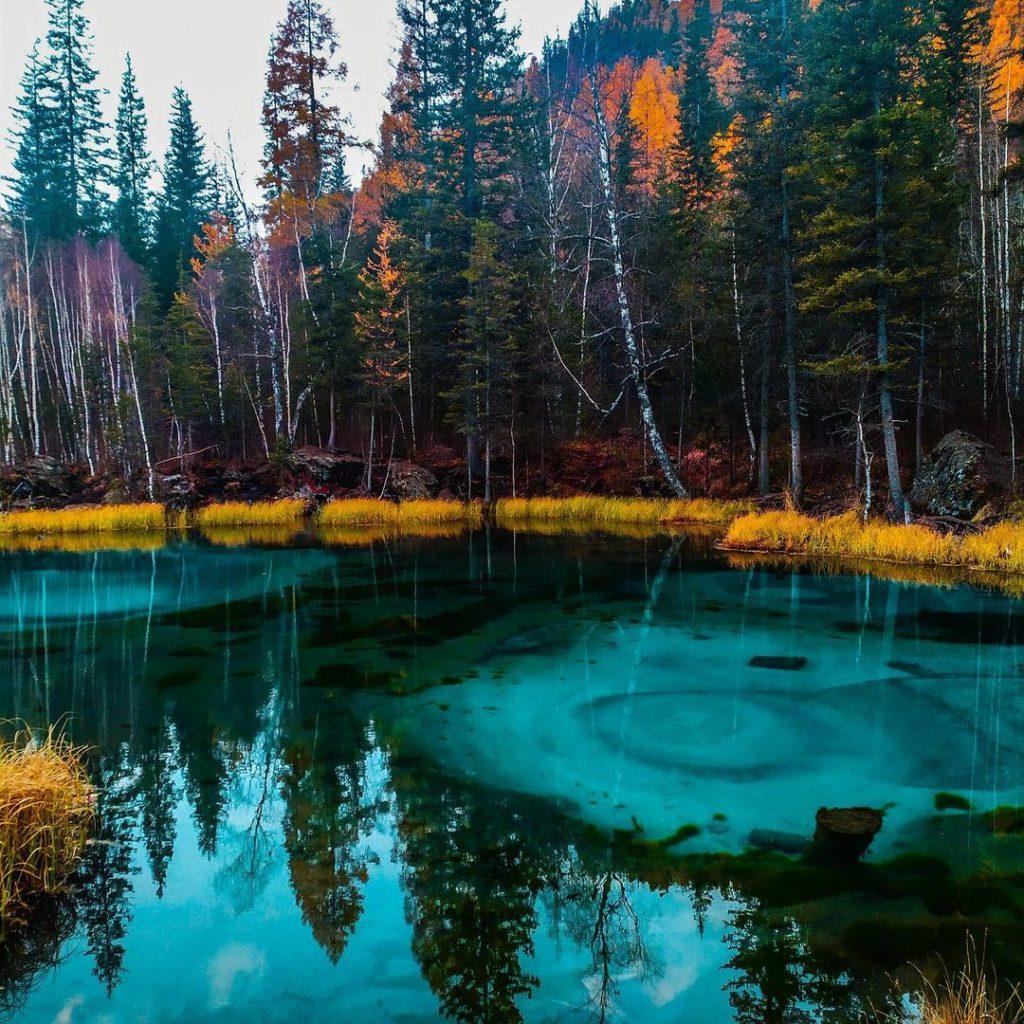 Гейзерное озеро